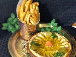 Hummus & Fries