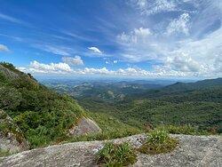 Vista do pico da pedra