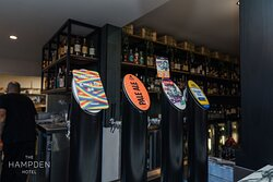 Experience the latest craft beer on our rotating taps