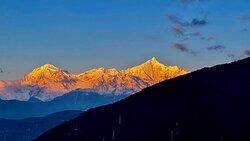 Sunrise over Meili Snow Mountain