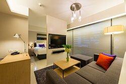 Studio Deluxe Living Area