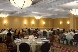 Diamond Ballroom - catering setup