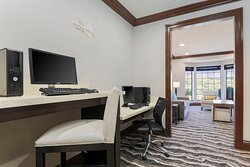 Stay connected in our fully-equipped business center.