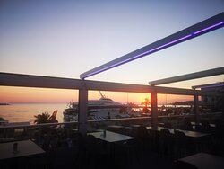 Sunset view from our restaurant.