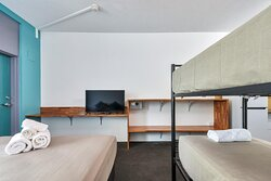 Family Room, One Queen One bunk, sleeps 4 with Foxtel