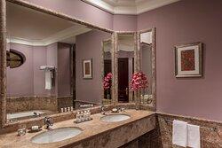 Anantara_Villa_Padierna_Palace_Benahavis_Marbella_Resort_Guest_Room_Family_Connecting_Room_Bathroom_With_Double_Washstand