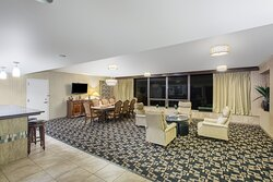 Presidential Suite Living and Dining Room Area