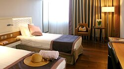 Stay in one of our renovated Standard Rooms with free Wi-Fi