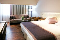 Enjoy a comfortable Standard Room with city views