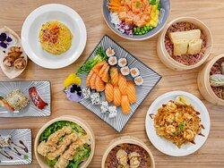 sushi e pad  thai