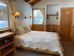 "Cabin ""B"" - Bedroom (Winter)"