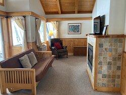 "Cabin ""B"" - Living Room (Winter)"