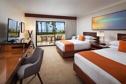 Double/Double Deluxe Ocean View Guest Room