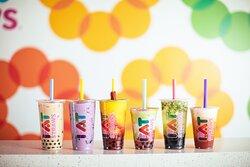 Variety of Bubble Teas