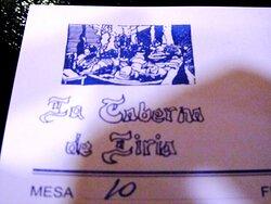 La Taberna de Liria en Madrid