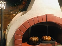 Everything from our lasagna to roasting vegetables is done in our big pizza oven. Always Fresh and full of flavour.