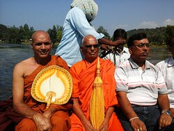 Traveling by Boat in Betwa River