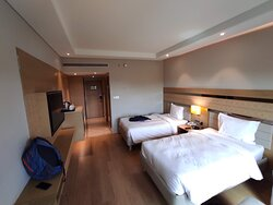 Spacious, clean and well-laid out rooms.