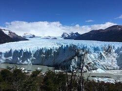 Glaciar Perito Moreno, desde la pasarela.