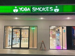 Yoga Studio with a high class smoke shop. Like no other, you must come by to check it out!