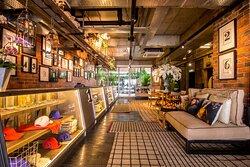 Cafe to Lobby