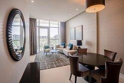 2 bedroom suite - living room