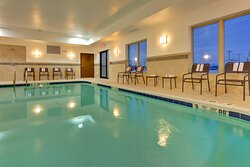 Relax by our indoor heated swimming pool