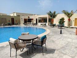 Ri Bar & Lounge with amazing pool view