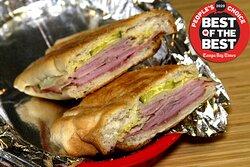 Our Award-Winning Cuban Sandwich!