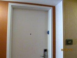 Outside of Room #407.