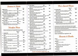 take away menu 2