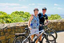 Mornington Peninsula Cycle Tour - Arthurs Seat view