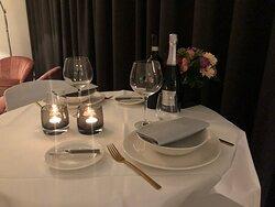 Diner for two 😍, zalige locatie !