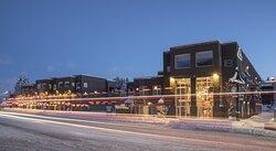 Hotel Ketchum Winter Exterior
