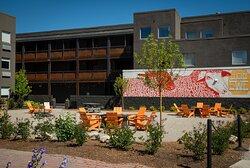 Hotel Ketchum Backyard