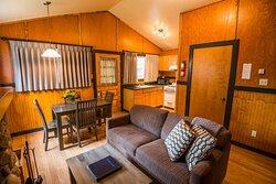 Tekarra Lodge Cabin Living Room