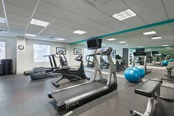 New equipment and spacious area for a great workout