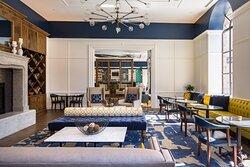 Social Gathering space at Hotel Indigo Baltimore Hotel
