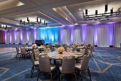 Harmony Grand Ballroom - Wedding Reception Setup