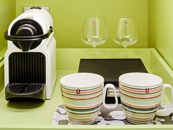 Relax with a cup of Nespresso coffee