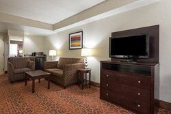 Try an Executive King room with extra space for socializing.
