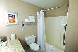 Enjoy our oversized bathrooms