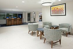 Plenty of space to gather in our spacious lobby
