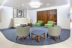 Relax in our spacious lobby