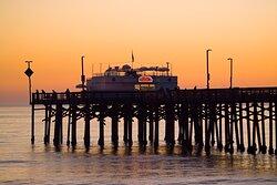 Balboa Pier near Newport Beach Hotel