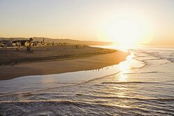 Beautiful Sunset near Newport Beach Hotel