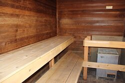 Relax with a hot sauna!