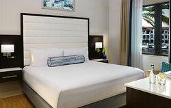 Two bedroom Marina View Master Bedroom