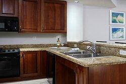 One Bedroom Suite ADA Kitchen