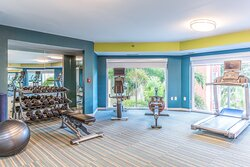 Enjoy our fully equipped Fitness Center